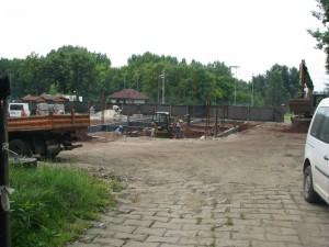 Na placu budowy