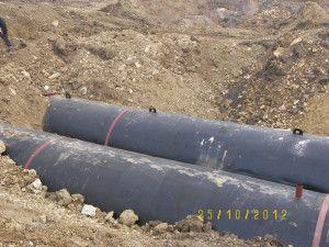 Podziemne zbiorniki na wodę 2000m3