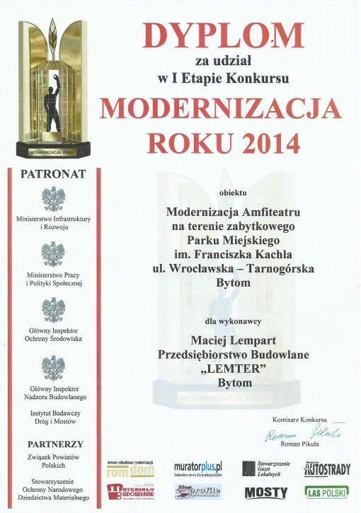 modernizacja roku
