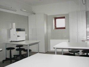 Wnętrze - laboratoria