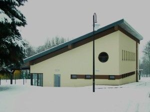 Stacja zimą